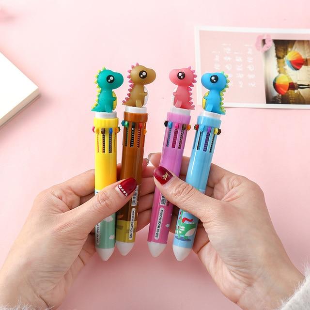 Dinosaur Multi-colored ballpoint pen