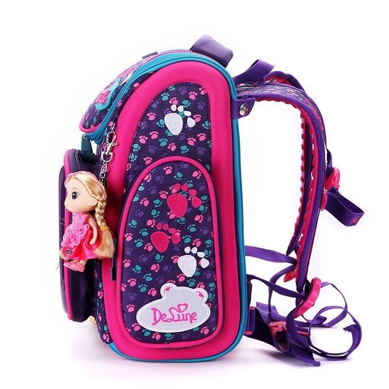 Girls High Quality Grade 1 4 School Backpacks Bags Backpack Bagpack For Boys Children Backpack Schoolbag 6 9 Years Old Back Pack in School Bags from Luggage Bags