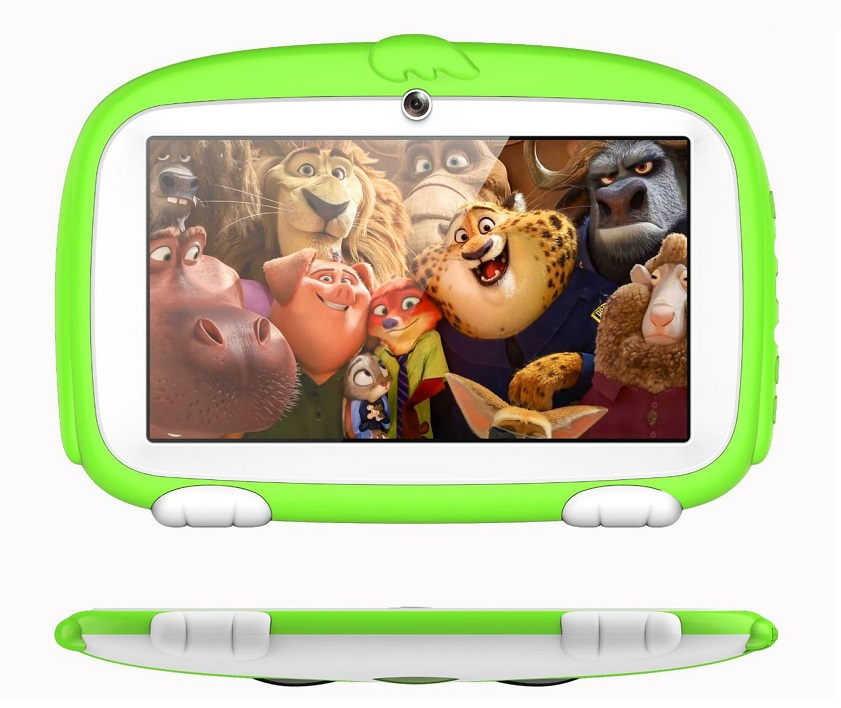 New 7 Inch Kids Tablet Pc Android 4.4 Quad Core Installed Games Best Gifts For Children WiFi Tablets Pc 8GB Flash Tab Pc