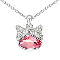 Wholesale Elegant Joker Crystal Pendant Necklace Made With Swarovski Elements Woman Fashion Pendants And Necklaces Top