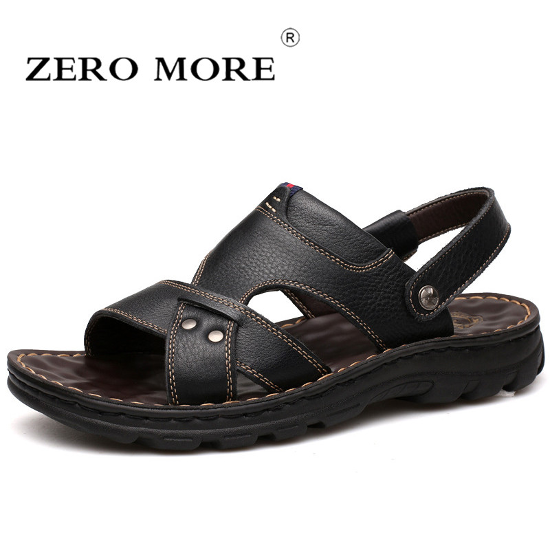 Mens Summer Gladiator Roman faux Leather Slippers Beach Sandals casual Shoes