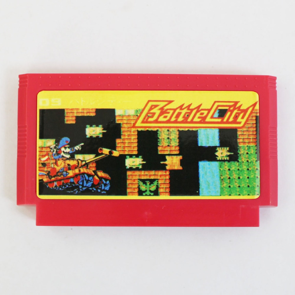 Battle City 60 Pin Game Card For 8 Bit Subor Game Player