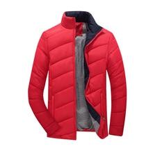 2016 Горячей Продажи Мужчины Зимняя Куртка Корейский Стиль Slim Fit Мода Теплый Мужчины Пальто мужская Одежда