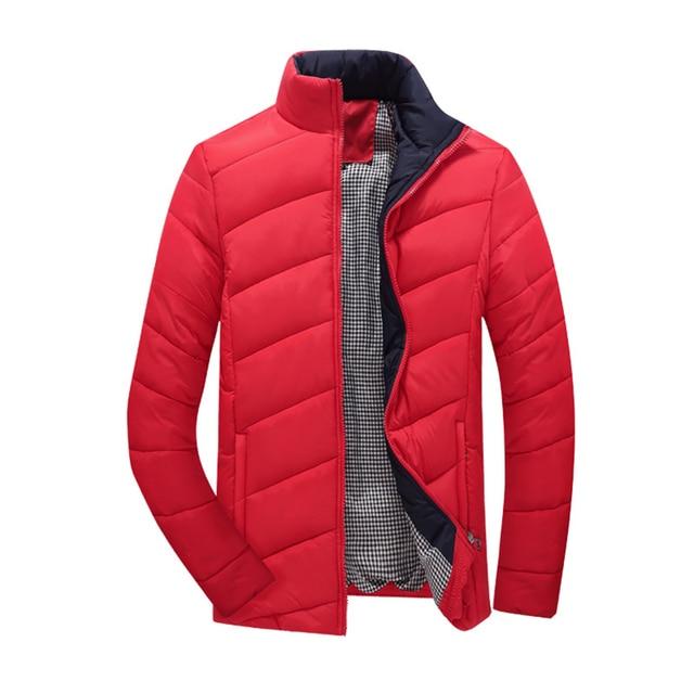 2016 Venda Quente Homens Jaqueta de Inverno Revestimento Dos Homens Quentes do Estilo Coreano Slim Fit Moda Roupas masculinas