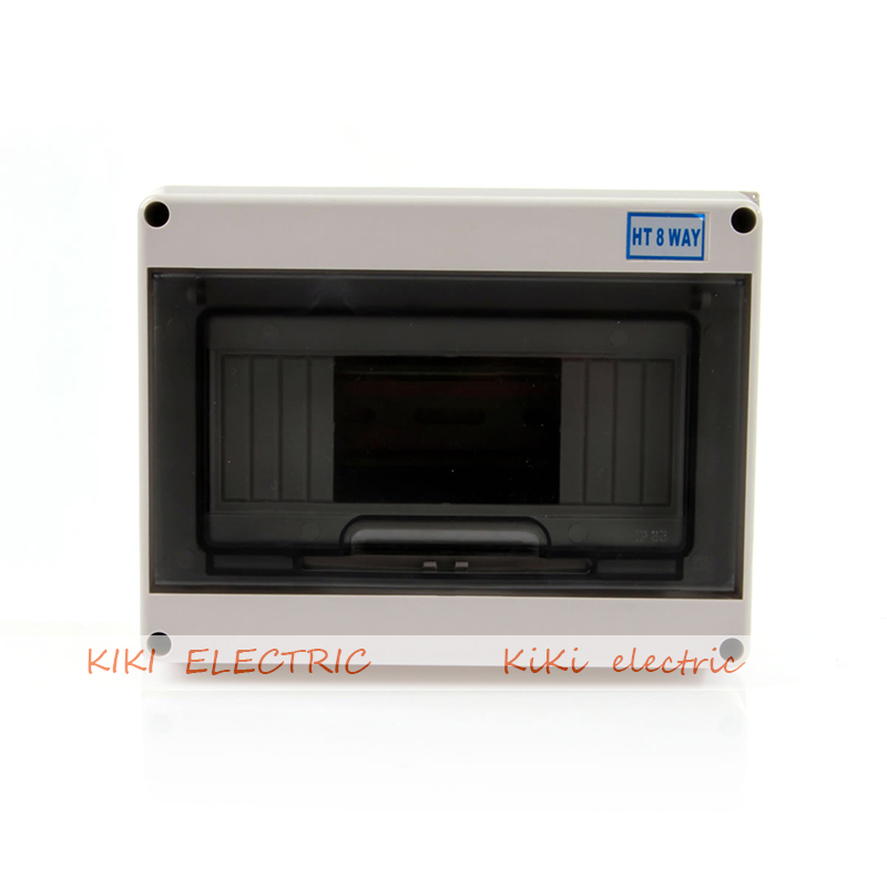 House/ Office use 8 way mini circuit breaker box waterproof and dustproof distribution box PC transparent cover Light box 2015 best hot sale ip65 waterproof electrical distribution box with transparent cover 80 110 85mm ds at 0811 1