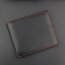 Ультратонкий мужской кошелек, кожаный, Ретро стиль, тонкие кошельки, высокое качество, сумка для денег, кредитница, новинка, кошелек для долларов, цена в долларах