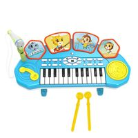 Rowsfire 3 In 1 Children Plastic Electronic Keyboard Musical Instruments Toy
