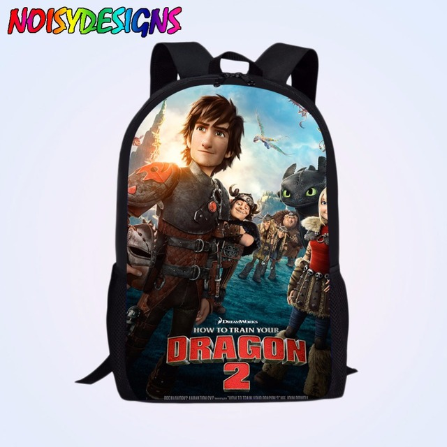4e280b87a0c 16-inch School Bags For Boys How to Train Your Dragon Backpack Kids Book Bag  For Boys Girls Cartoon Backpack School Child