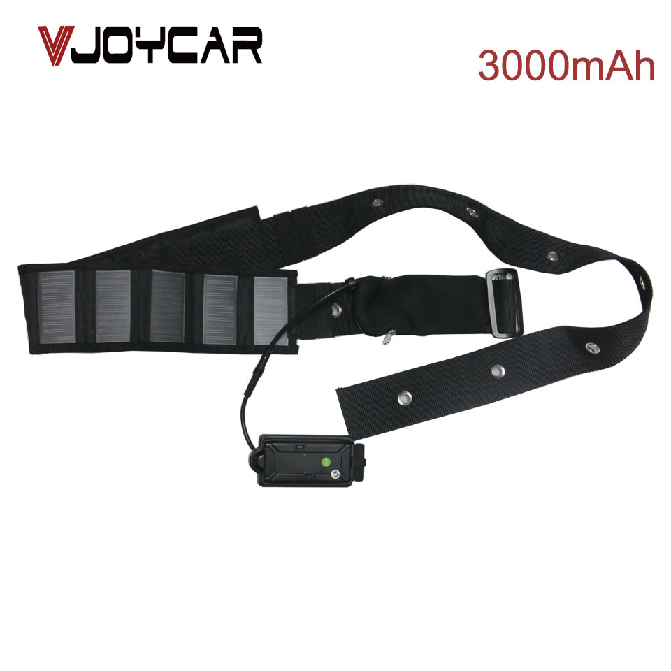 VJOYCAR ASolar Panel Collar GPS Tracker For Big Animal Cow Cattle Camel Horse 3000mAh Battery Solar