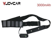 VJOYCAR T300S Smart Solar Waterproof Collar Cattle Sheep Cow GPS Tracker for Livestock Real Time Tracking Management