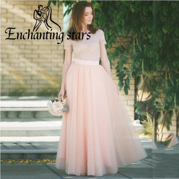 2017 Women Summer Evening Dresses Short Sleeves O'Neck Sexy Lace Appliques Zipper Corset Back Runway Fashion Party Gown - Molibridal_ Store store