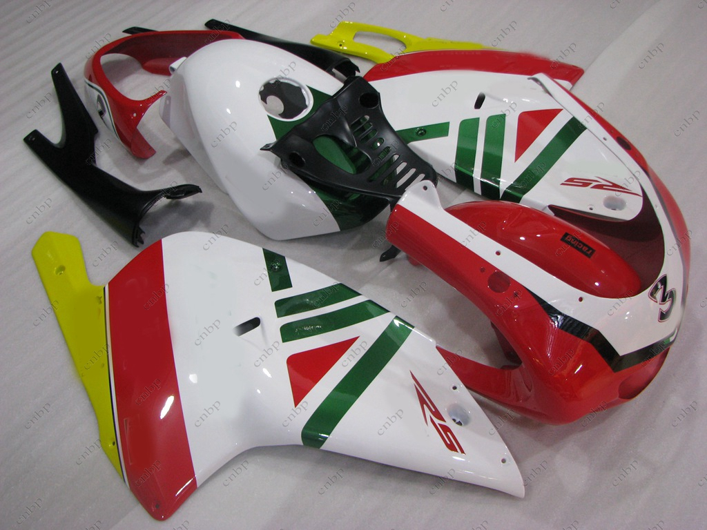 Motorcycle Fairing for Aprilia RS125 04 05 Plastic Fairings RS125 01 00 2000 - 2005 White Red Fairing RS 125 02 03