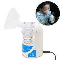 Beurha 110V 220V Home Health Care Adult Children Care Inhale Nebulizer Portable Automizer Inhaler Free Shipping