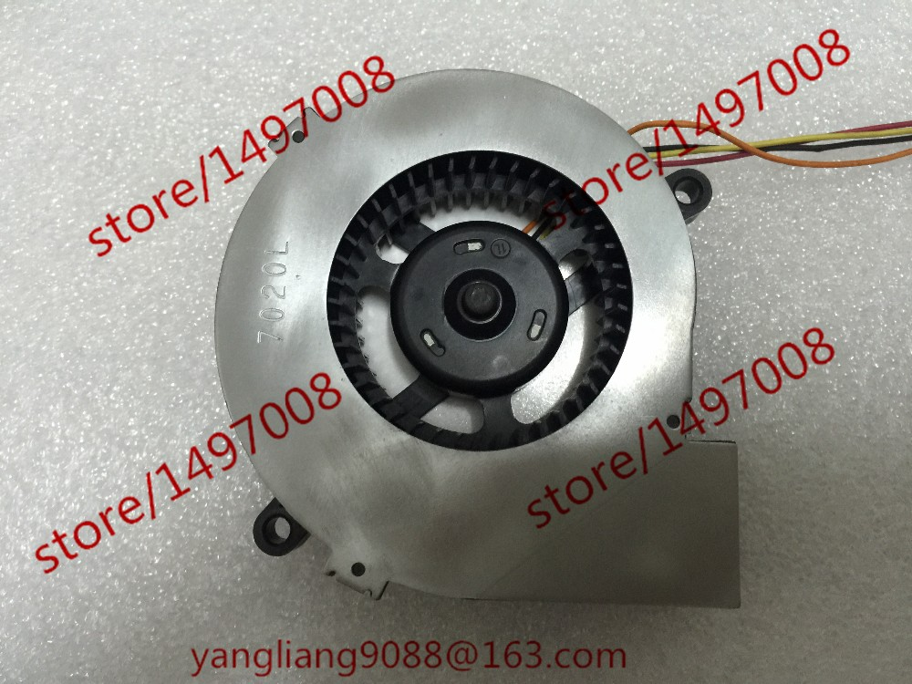Free Shipping CE-7020L-02 DC 12V 250MA 4-wire 4-Pin connector 60mm  Server Blower Cooling fan