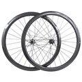 Углеродные колеса дисковые тормоза 700c 38 мм Трубчатые 23 мм CT31 ступицы прямые тяги Центральный замок колеса велосипеда UD 3K 28H 1310g Углеродные ко...