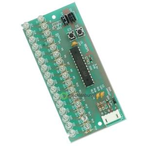 Image 4 - MCU 調節可能な表示パターン LED VU レベルメーターインジケータオーディオアンプ 16 LED デュアルチャンネルグリーンライトランプ DC 8 に 12 V