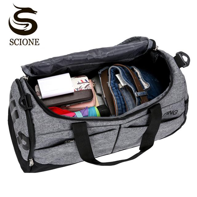 Hot Men Travel Handbag Large Capacity Female Women Luggage Travel Duffle Bags Male Canvas Big Travel Folding Trip Shoulder Bag