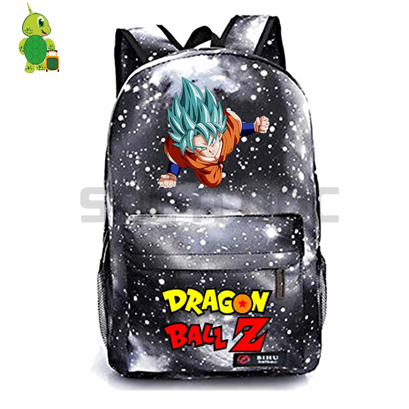 Dragon Ball Z Son Goku Large Capacity Backpack Bag School Book Bag Unisex Boy:8