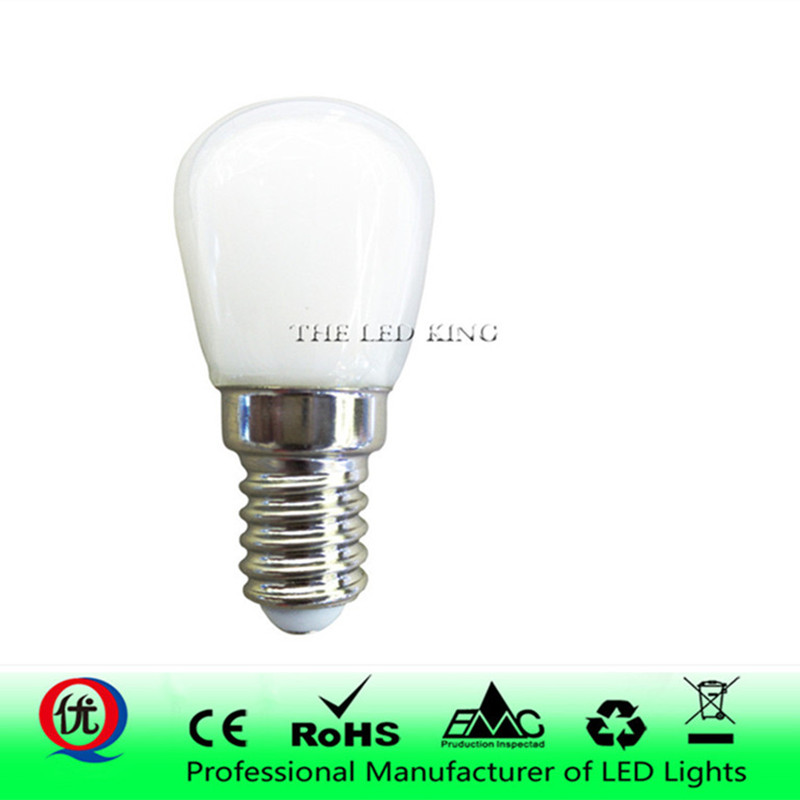AC 220 В мини E14 E12 SMD2835 светодиодный Blub стеклянная лампа для холодильника морозильник домашнее освещение