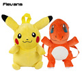 Monstro Pikachu/Charmander Plush Backpack Plush Brinquedos de pelúcia Bicho de pelúcia Dolls