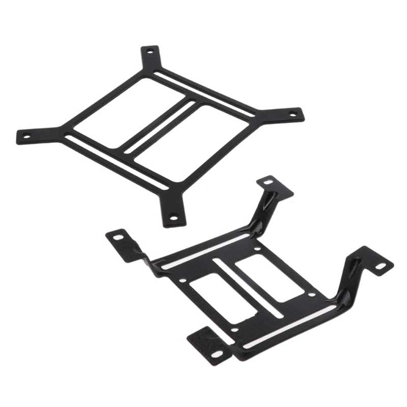 Water Cooling System 120mm Water Cooling Radiator Support Holder Water Pump  Tank Mounting Bracket