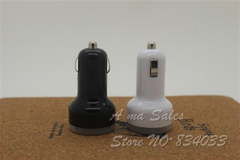 Высочайшее качество 2.1a + 1A Dual USB Автомобильное Зарядное устройство для IPad Mini/4/iPhone5s/5C Ipod и сотовый телефон/ КПК/MP3/MP4 минимальный заказ 500 шт./лот