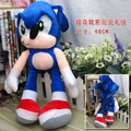 Plush Sonic the Hedgehog Super Big Plush Toy cartoon figure Cosplay Costume Soft Stuffed Doll Free Shipping 19""