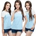 Emoção Mães de verão de manga Curta Roupas de Enfermagem da Maternidade superior de enfermagem amamentação tops para As Mulheres Grávidas maternidade T-shirt