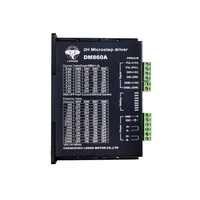 Free Ship to US/EU 1PC Stepper motor driver digital controller DM860A peak 7.8A 256 micsteps 24VDC~80VDC for Nema 34