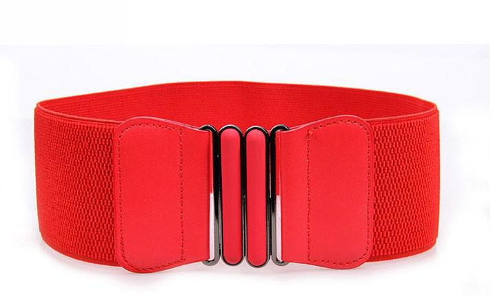 4 Colors Available Down Jacket Sashes Ultra Loose Tight Women Belt Elastic Stretch Belt Wide Red Stretch Belt Free Shipping 2020