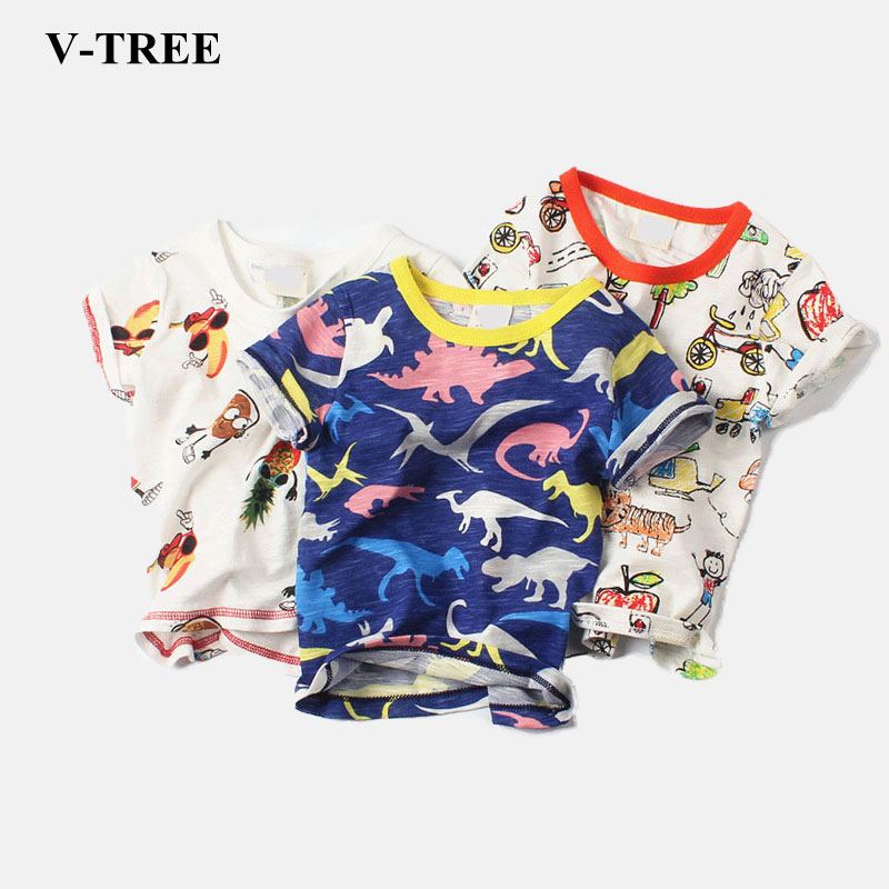 Summer Children T-shirt Cartoon Print Boys Shirts Cotton Girls T-shirt 0-6Y Tops For Kids Brand Baby Tees Clothes led телевизор samsung lt28e310