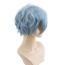 HSIU NEW High quality Tomura Shigaraki Cosplay Wig My Hero Academy Costume Play  Halloween  Hair free shipping