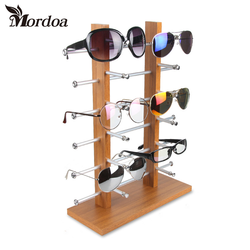 Glasses Frame Display : Popular Wooden Sunglass Rack-Buy Cheap Wooden Sunglass ...