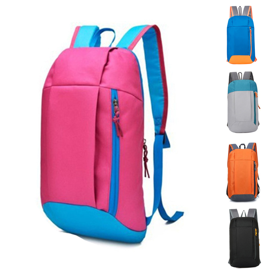 Waterproof Sport Backpack Small Gym Bag Women Pink Outdoor Luggage For Fitness Travel Duffel Bags Men Kids Children sac de Nylon(China)