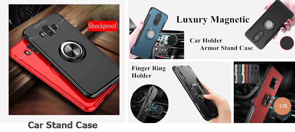 ᗖMagnetic Adsorption Phone Case for Huawei Honor 8X Max