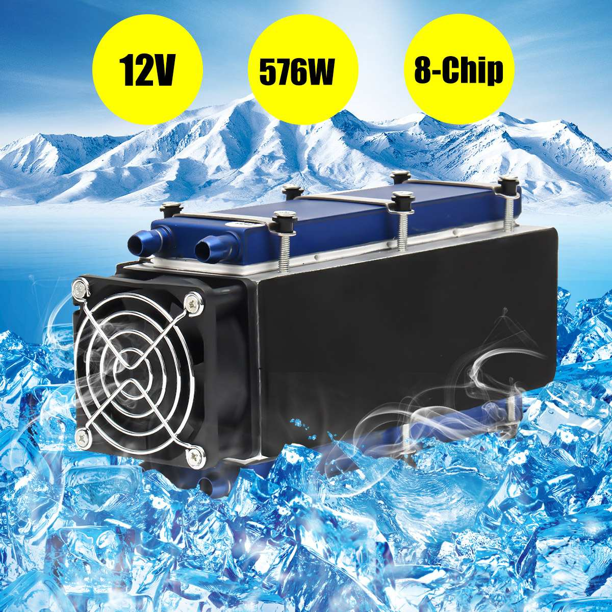 12V Thermoelectric Peltier Refrigeration Cooling System Kit Cooler For DIY TEC-12706 Mini Air Conditioner Integrated Circuits