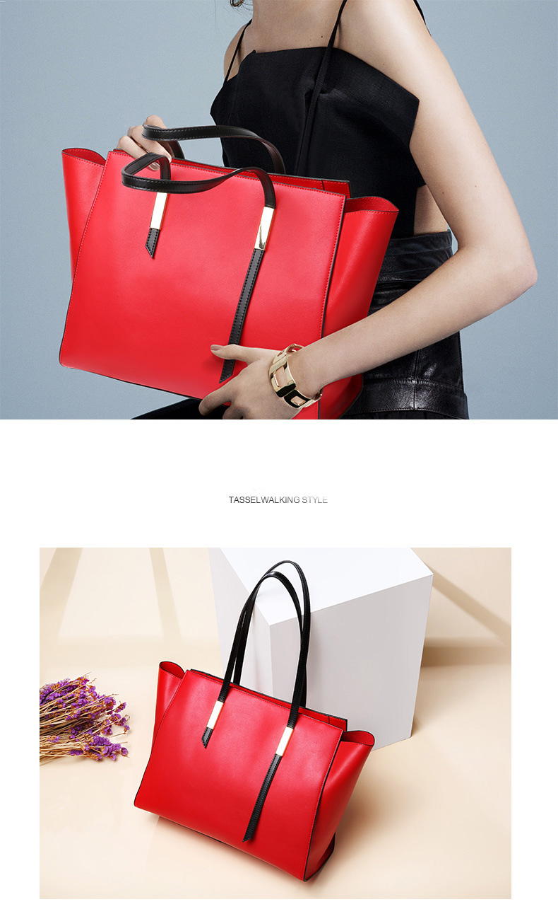 Dienqi famosa bolsa de couro genuíno bolsas