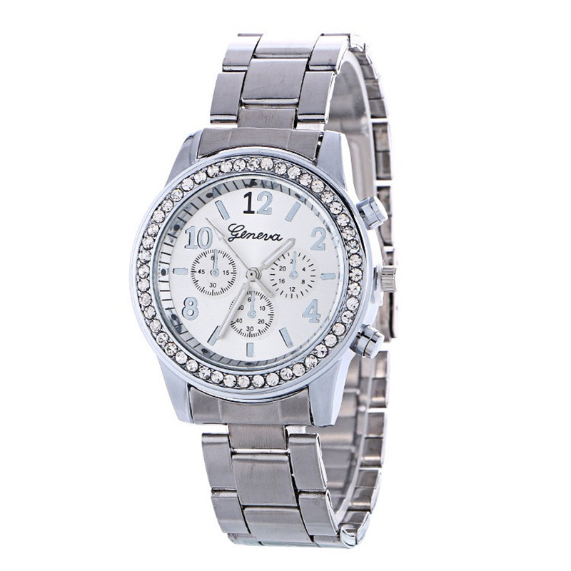 Gofuly 2018 New Luxury Watch Fashion Stainless Steel Watch For Man Geneva Quartz Eisure Accessories Analog Wrist Watch Orologio