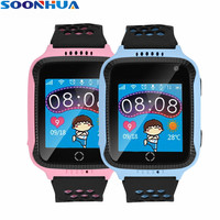 SOONHUA Children Smart Watch GPS Real Time Positioning Bluetooth Dialing Recording Calculator Remote Camera SOS Calls Wristwatch