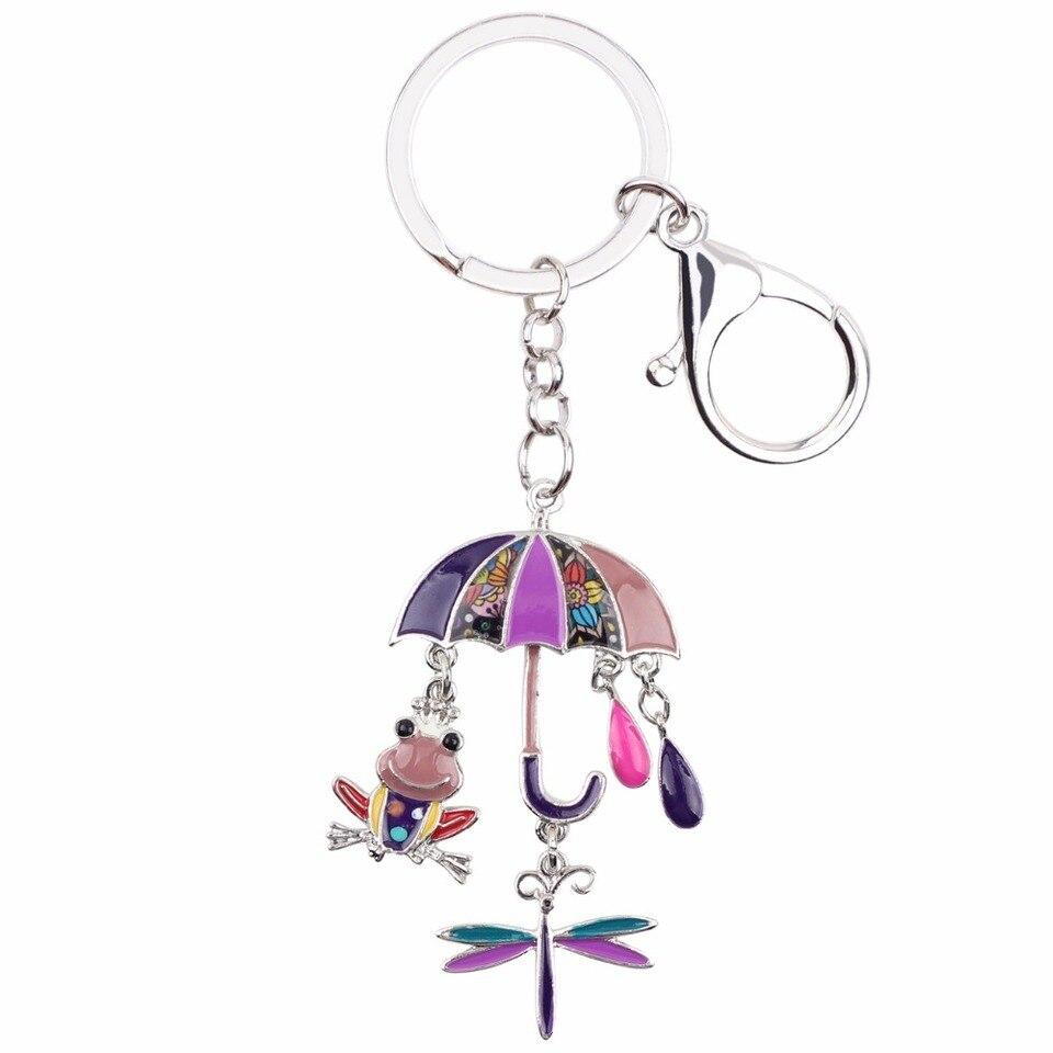 Women Key chain Bag Key ring Key Chain Mini Bag Handbag Charm Bag NEW yzs