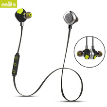 MIFO U5 PLUS Waterproof Magnetic Wireless Headset Sport Bluetooth 4 1 Headphones Stereo With Micphone HIFI