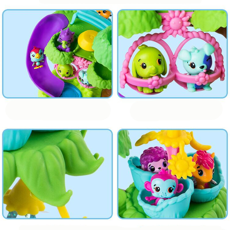 Genuine Hatchimals Cute Pets Mini Toy Nursery Playset With Colleggtibles Birthday For Kids Children Gifts In Action Figures From Toys Hobbies On