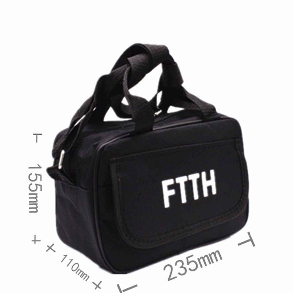 FTTH Fiber Cold Welding Tool Kit Network Tools Empty Bag Can Be Accommodated Optical Power, Visual Fault Locator