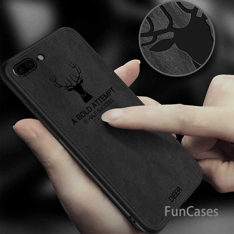 ผ้ากวางโทรศัพท์กรณีสำหรับ iphone X Xs Max Xr 7 8 6 6 s Plus Ultra Thin Soft ซิลิโคนผ้าสำหรับ iphone 7 8 6 s Plus