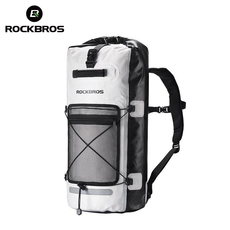 ROCKBROS sac à dos vélo sacs de vélo grande capacité vélo pliable paquet de rangement extérieur sacoche vélo accessoire triathlon