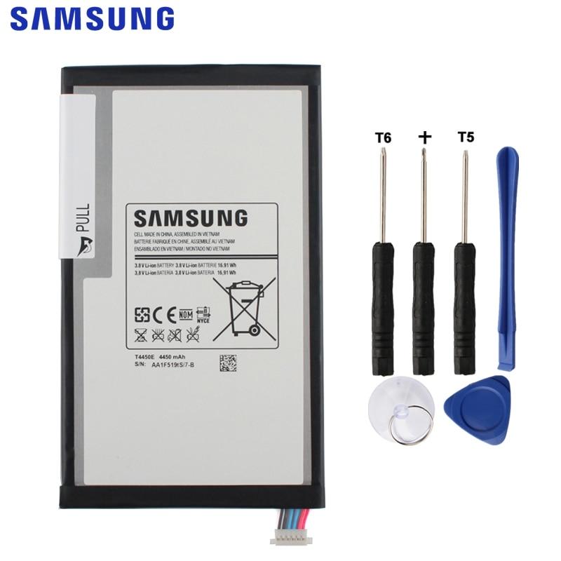 Samsung 3 T4450E Bateria Original Para Samsung GALAXY Tab 8.0 T310 T311 T315 Embutido Genuine Substituição da Bateria 4450 mAh Tablet