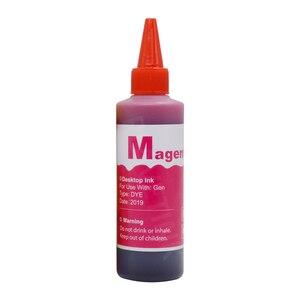 Image 4 - Plavetink 100ml Bottle Dye Ink Refill Kit 4 Color For HP 301 302 304 123 300 121 122 123 140 141 21 22 XL Printer Cartridges
