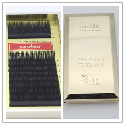 5df3898bd88f 1pc*Top Quality Navina Ultimate Luxury Lashes 0.1C (/8/9/10/11/12/13/14mm)  Available False Eyelashes Soft Makeup Extension Tools