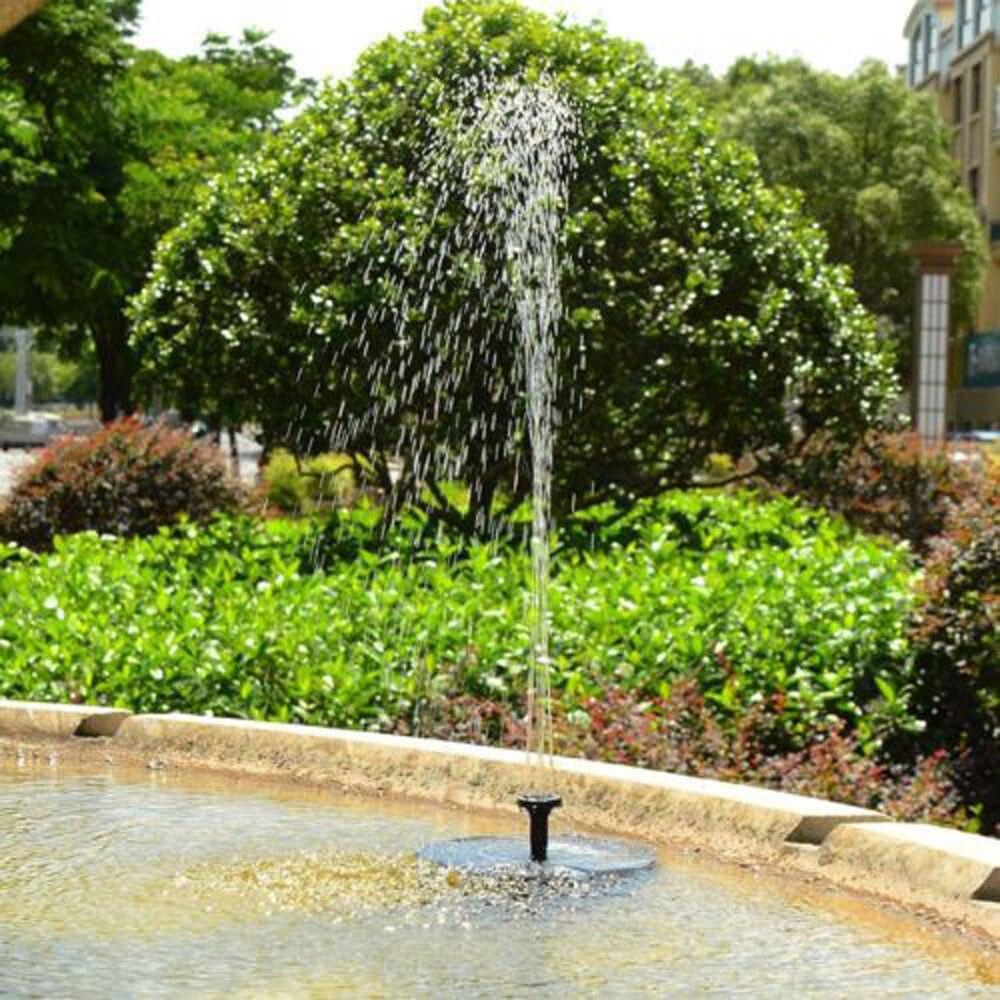 neue outdoor solar powered vogel bad wasser brunnen pumpe für pool