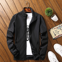 AELFRIC Full Zipper Casual Coats Men Outwear 2018 Color Block Baseball Jacket Hip Hop
